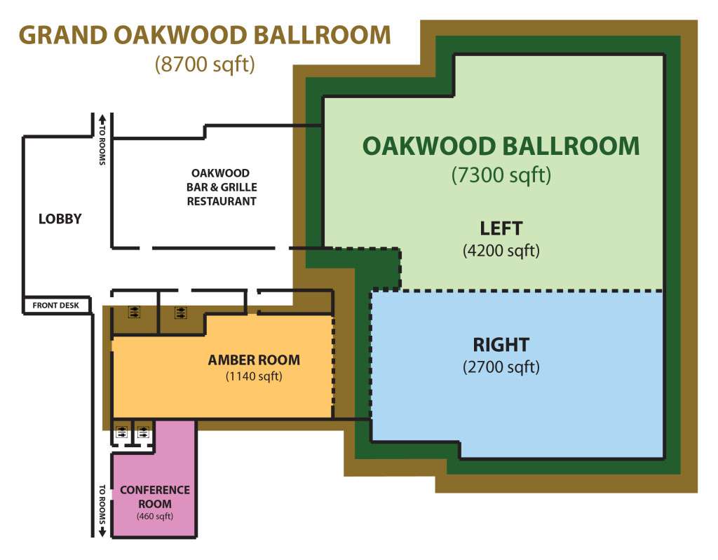 Banquet Hall Space Layout & Floor Plan